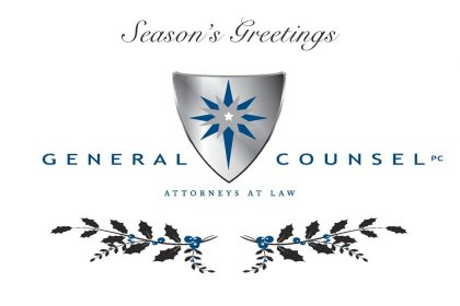General Counsel PC Happy Holidays 2014