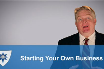 Video about things to consider before starting a business.