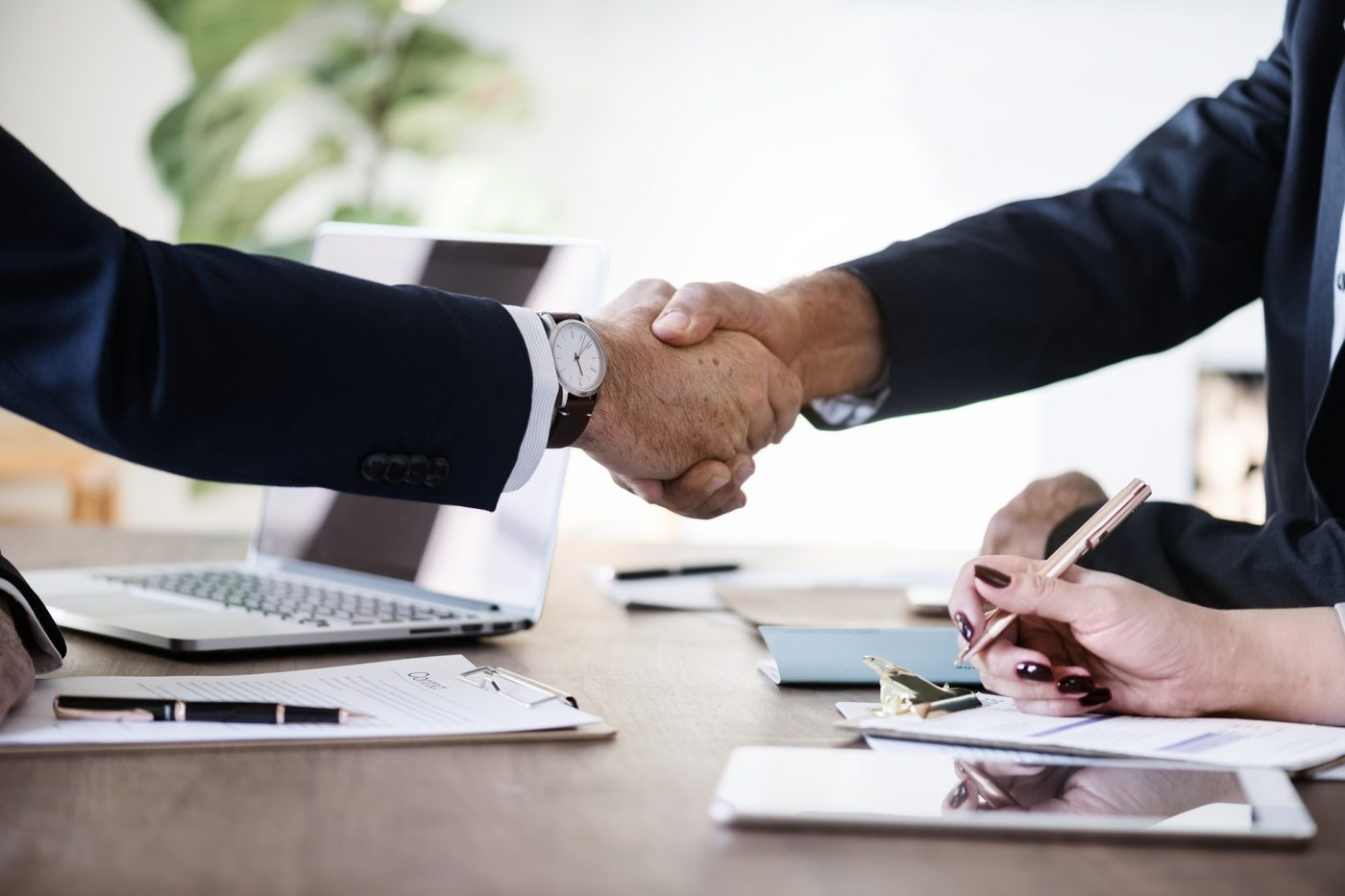 Starting a business partnership