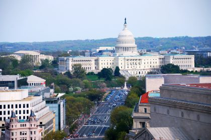 U.S. Capital where the CARES Act was put into law