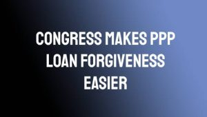 PPP Loan Forgiveness Easier