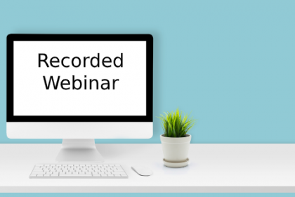 General Counsel Recorded Webinar