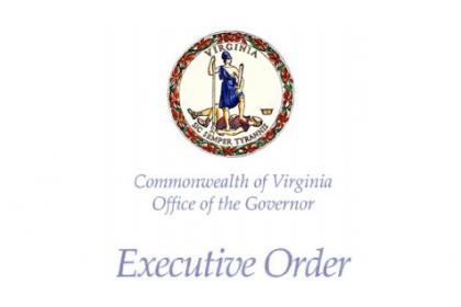 Virginia Governor Executive Order