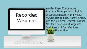 Virginia Permanent COVID Prevention Webinar 2-2-2021