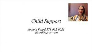 Video introduces basic concepts of child support in Virginia divorce