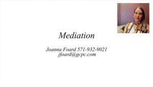 Video Explaining Mediation in Divorce in Virginia