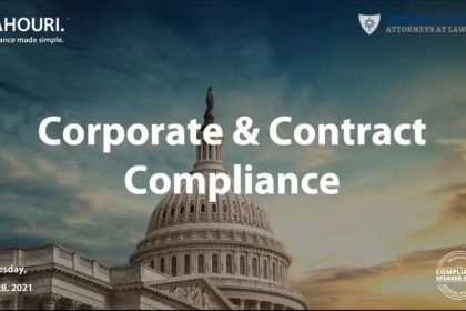 GovCon Corporate & Contract Compliance Part 1 of Series